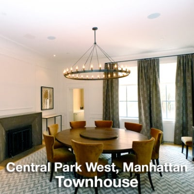 Central Park West Manhattan Townhouse