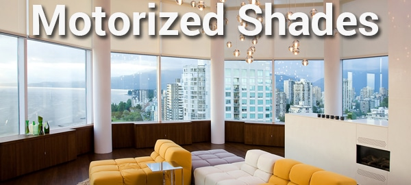 Motorized Shades and Window Treatments
