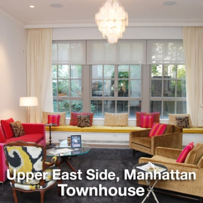 Upper East Side Manhattan Townhouse